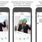 Application concurrente tinder