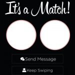Tinder match notification | Application rencontre