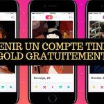 Comment avoir tinder gold gratuit | Application rencontre