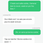 Comment draguer sms