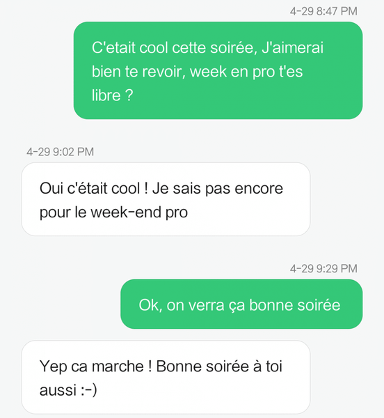 sms rencontre femme