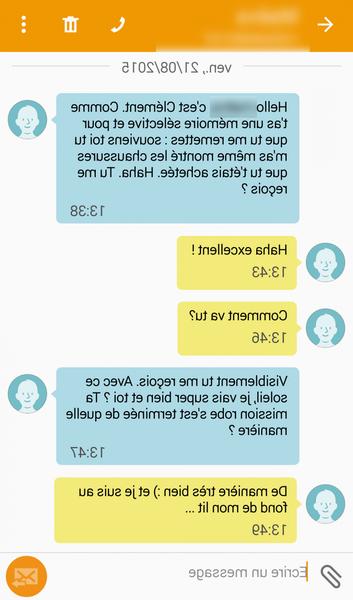 rencontre femme par texto)