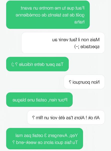comment flirter sur messenger
